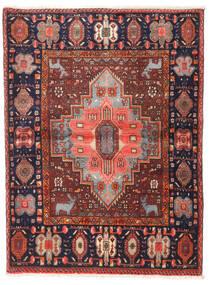 Gholtogh Tappeto 108X144 Orientale Fatto A Mano Rosso Scuro/Marrone Scuro (Lana, Persia/Iran)