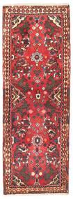 Rudbar Matta 70X196 Äkta Orientalisk Handknuten Hallmatta Mörkröd/Mörkbrun/Roströd (Ull, Persien/Iran)