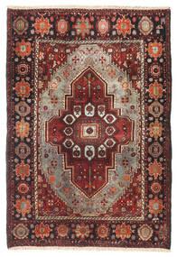 Gholtogh Vloerkleed 106X157 Echt Oosters Handgeknoopt Donkerrood/Zwart (Wol, Perzië/Iran)