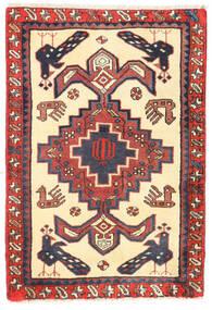 Sarab Dywan 65X95 Orientalny Tkany Ręcznie Beżowy/Ciemnoczerwony (Wełna, Persja/Iran)
