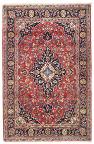 Keszan Dywan 114X175 Orientalny Tkany Ręcznie Ciemnoczerwony/Ciemnofioletowy (Wełna, Persja/Iran)