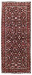 Bidjar Rug 85X202 Authentic  Oriental Handknotted Hallway Runner  Dark Red/Black (Wool, Persia/Iran)