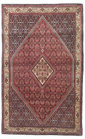 Bidżar Dywan 115X185 Orientalny Tkany Ręcznie Ciemnoczerwony/Ciemnobrązowy (Wełna, Persja/Iran)