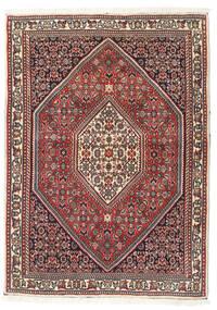 Bidjar Rug 88X120 Authentic  Oriental Handknotted Dark Brown/Dark Red (Wool, Persia/Iran)