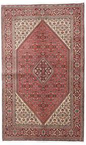 Bidżar Dywan 138X225 Orientalny Tkany Ręcznie Ciemnobrązowy/Jasnoróżowy (Wełna, Persja/Iran)