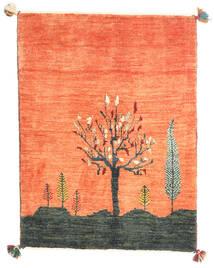 Gabbeh Kashkooli Rug 85X115 Authentic  Modern Handknotted Orange/Crimson Red (Wool, Persia/Iran)