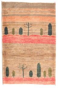 Gabbeh Kashkooli Rug 84X125 Authentic  Modern Handknotted Dark Beige/Light Brown (Wool, Persia/Iran)