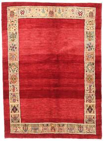 ギャッベ キャシュクリ 絨毯 145X195 モダン 手織り 赤/ベージュ (ウール, ペルシャ/イラン)