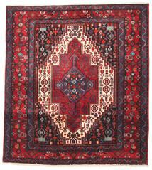 Senneh Matto 138X150 Itämainen Käsinsolmittu Neliö (Villa, Persia/Iran)