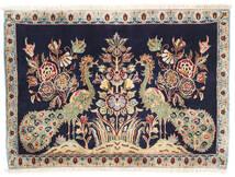 Keshan Teppich  70X97 Echter Orientalischer Handgeknüpfter (Wolle, Persien/Iran)