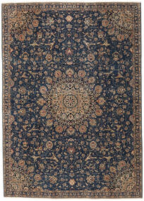 Mashad Patina Rug 225X315 Authentic  Oriental Handknotted Dark Purple/Dark Grey (Wool, Persia/Iran)