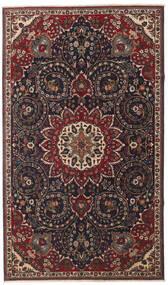 Tabriz Patina Matto 153X260 Itämainen Käsinsolmittu Tummanruskea/Tummanpunainen (Villa, Persia/Iran)