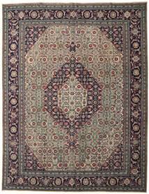 Ardabil Patina Alfombra 308X400 Oriental Hecha A Mano Negro/Gris Oscuro Grande (Lana, Persia/Irán)