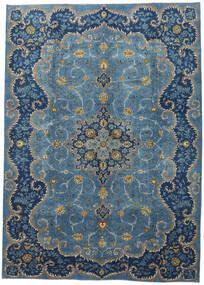 Najafabad Patina Matto 293X410 Itämainen Käsinsolmittu Sininen/Tummansininen Isot (Villa, Persia/Iran)
