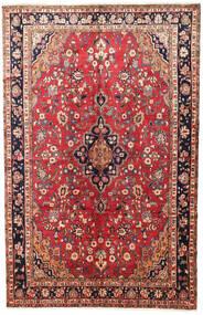 Mehraban Tapis 200X314 D'orient Fait Main Rouge Foncé/Rouille/Rouge (Laine, Perse/Iran)