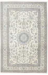 Nain Rug 242X365 Authentic  Oriental Handknotted Beige/Light Grey (Wool, Persia/Iran)