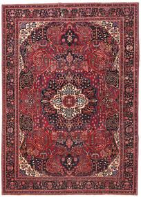 Mashad Patina Tapis 257X362 D'orient Fait Main Rouge Foncé/Rouge Grand (Laine, Perse/Iran)