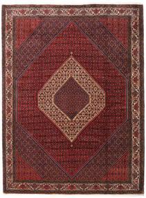 Bidjar Takab/Bukan Matta 260X345 Äkta Orientalisk Handknuten Mörkröd/Mörkbrun Stor (Ull, Persien/Iran)