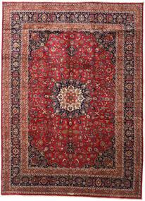 Mashad Rug 350X477 Authentic  Oriental Handknotted Dark Red/Dark Brown Large (Wool, Persia/Iran)
