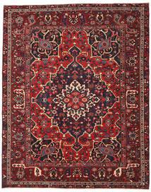 Bakhtiar Patina Tæppe 298X373 Ægte Orientalsk Håndknyttet Mørkerød/Sort Stort (Uld, Persien/Iran)