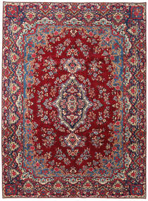 Yazd Patina Rug 258X350 Authentic  Oriental Handknotted Dark Red/Dark Purple Large (Wool, Persia/Iran)