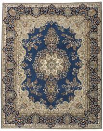 Kerman Patina Dywan 247X305 Orientalny Tkany Ręcznie Ciemnoszary/Jasnoszary (Wełna, Persja/Iran)