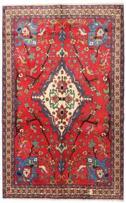 Nahavand Rug 160X253 Authentic  Oriental Handknotted Crimson Red/Dark Red (Wool, Persia/Iran)