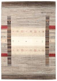 Gabbeh Loribaft Rug 171X249 Authentic  Modern Handknotted Light Grey/Beige (Wool, India)