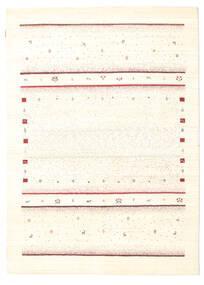 Gabbeh Loribaft Dywan 165X230 Nowoczesny Tkany Ręcznie Beżowy (Wełna, Indie)