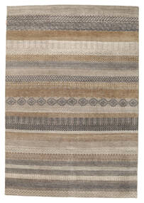 Gabbeh Loribaft Rug 172X249 Authentic  Modern Handknotted Light Grey/Light Brown (Wool, India)