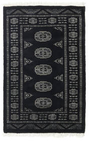 Pakistan Bokhara 3Ply Rug 78X121 Authentic  Oriental Handknotted Dark Grey (Wool, Pakistan)
