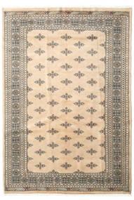 Pakistański Bucharski 3Ply Dywan 168X244 Orientalny Tkany Ręcznie Beżowy/Jasnoszary/Jasnobrązowy (Wełna, Pakistan)