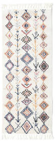 Rauma - Off White Rug 80X200 Modern Hallway Runner  Beige/White/Creme/Light Grey ( Turkey)