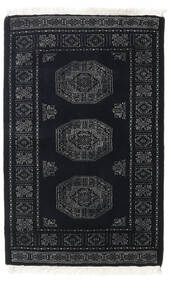 Pakistan Bokhara 3Ply Rug 78X121 Authentic  Oriental Handknotted Dark Grey (Wool, Pakistan)