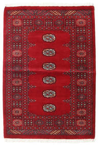 Pakistan Bokhara 3Ply Rug 99X142 Authentic  Oriental Handknotted Dark Red/Crimson Red (Wool, Pakistan)