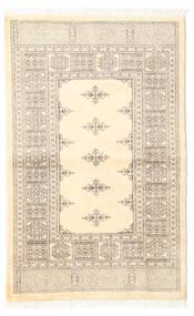 Pakistan Bokhara 3Ply Rug 95X151 Authentic  Oriental Handknotted Beige/Light Grey (Wool, Pakistan)