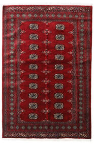 Pakistan Bokhara 3Ply Rug 139X208 Authentic  Oriental Handknotted Dark Red/Crimson Red (Wool, Pakistan)