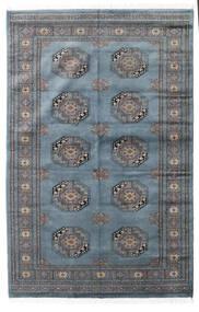 Pakistan Bokhara 3Ply Rug 138X210 Authentic  Oriental Handknotted Blue/Dark Grey (Wool, Pakistan)