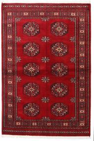 Pakistan Bokhara 3Ply Teppe 138X206 Ekte Orientalsk Håndknyttet Mørk Rød/Rød (Ull, Pakistan)