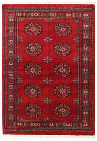 Pakistan Bokhara 3Ply Rug 138X196 Authentic  Oriental Handknotted Dark Red/Crimson Red (Wool, Pakistan)