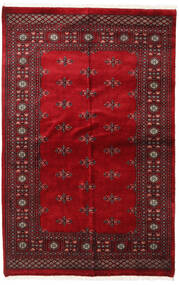 Pakistan Bokhara 3Ply Rug 136X210 Authentic  Oriental Handknotted Dark Red/Crimson Red (Wool, Pakistan)