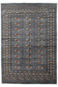 Pakistan Bokhara 3Ply Matto 141X205 Itämainen Käsinsolmittu Tummanharmaa/Musta (Villa, Pakistan)
