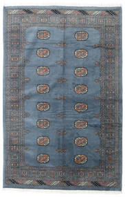 Pakistan Bokhara 3Ply Rug 139X210 Authentic  Oriental Handknotted Blue/Dark Blue (Wool, Pakistan)