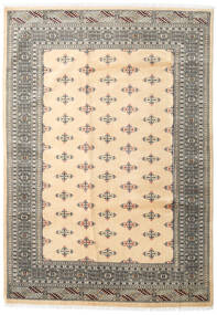 Pakistan Bokhara 2Ply Rug 172X246 Authentic  Oriental Handknotted Beige/Light Grey (Wool, Pakistan)