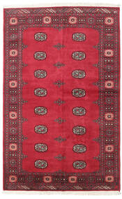 Pakistan Bokhara 2Ply Rug 139X210 Authentic  Oriental Handknotted Crimson Red/Rust Red (Wool, Pakistan)