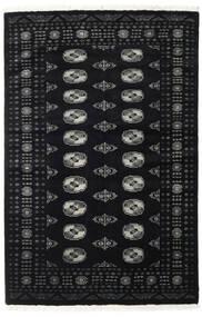 Pakistański Bucharski 2Ply Dywan 138X210 Orientalny Tkany Ręcznie Czarny (Wełna, Pakistan)