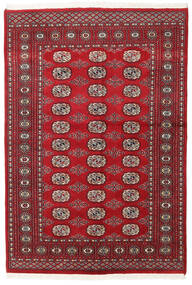 Pakistan Bokhara 2Ply Rug 136X199 Authentic  Oriental Handknotted Dark Red/Crimson Red (Wool, Pakistan)