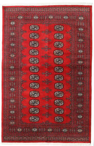 Pakistan Bokhara 2Ply Rug 136X208 Authentic  Oriental Handknotted Crimson Red/Dark Red (Wool, Pakistan)
