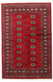 Pakistan Bukhara 2Ply Covor 135X208 Orientale Lucrat Manual Roșu-Închis/Roşu (Lână, Pakistan)
