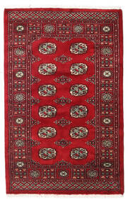 Pakistan Bokhara 3Ply Rug 96X150 Authentic  Oriental Handknotted Dark Red/Crimson Red (Wool, Pakistan)